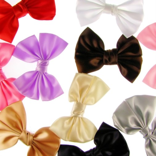 Ribbon Bow 11cm Mixed Colours (10 Pack)