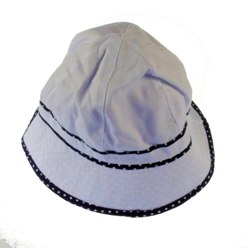 0b433eb9bcb Fashion   Fashion Accessories   Hats and Gloves   Jasmine Ladies Reversible  Bucket Hat White Navy Spot