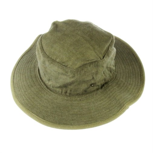 Russell Mens Soft Cotton Twill Bush Hat Olive