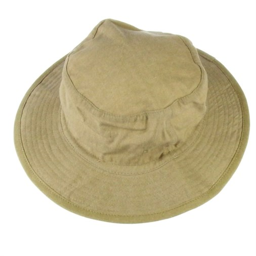 Russell Mens Soft Cotton Twill Bush Hat Stone