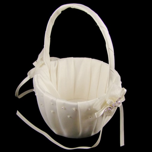Amboise Flower Girl Wedding Basket