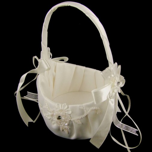 Chambord Flower Girl Wedding Basket