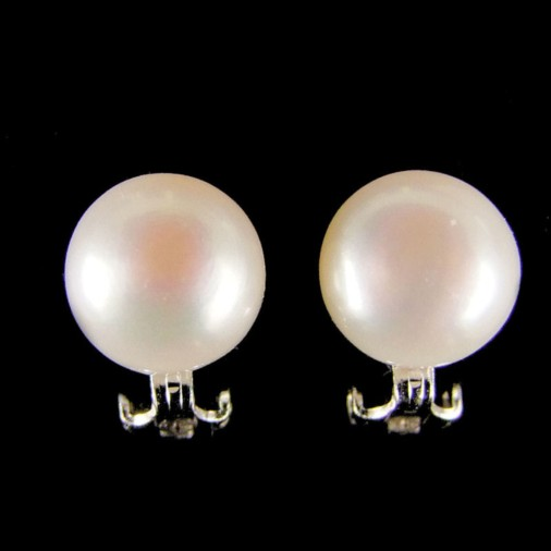 Stella Freshwater Pearl Clip on Earrings