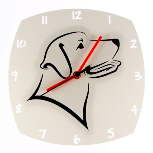 Euphyllia-Tempus Labrador Dog Wall Clock