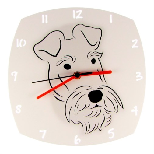 Euphyllia-Tempus Terrier Dog Wall Clock