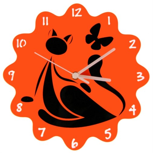 Euphyllia-Tempus Childrens Cat Wall Clock