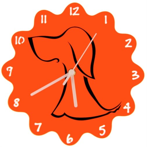 Euphyllia-Tempus Childrens Dog Wall Clock