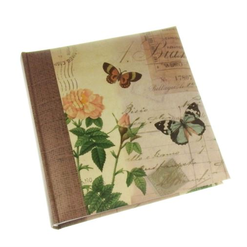 Summer Breeze Rose Slip-in Photo Album 6x4