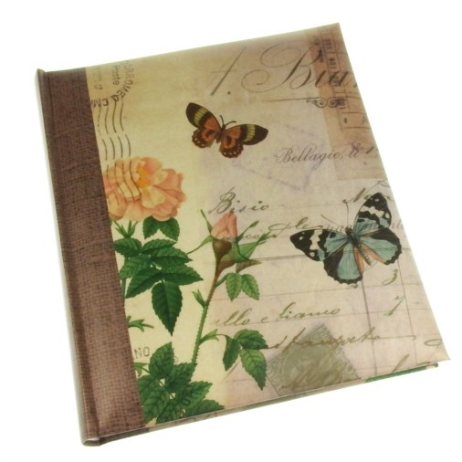 Summer Breeze Rose Slip-in Photo Album 7x5