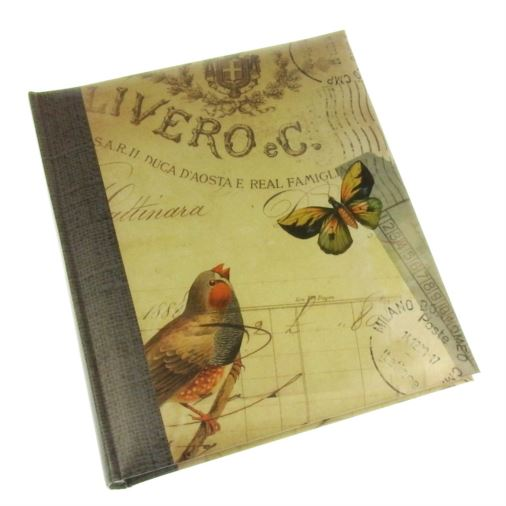 Summer Breeze Bird Slip-in Photo Album 7x5