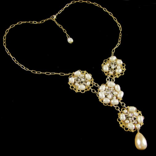 Hypolita Vintage Bridal Necklace