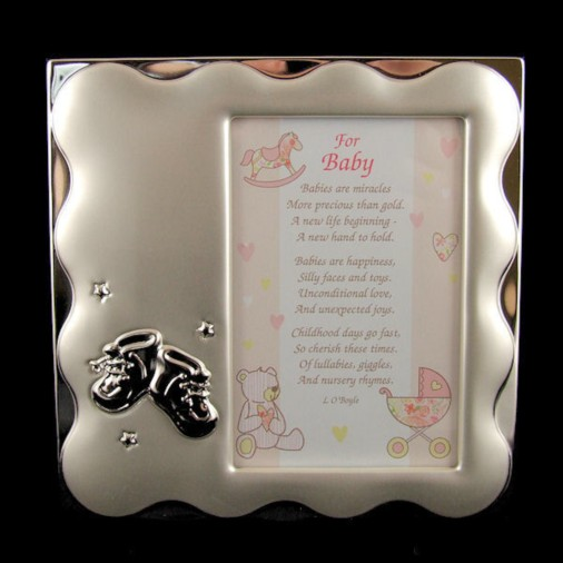 Booties Baby Photo Frame (Girl)