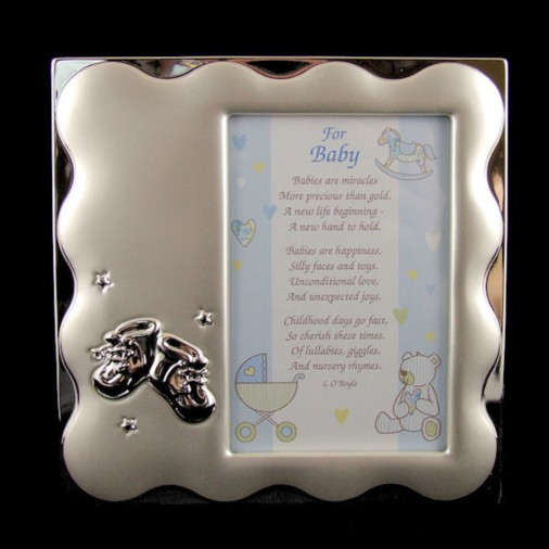 Booties Baby Photo Frame (Boy)