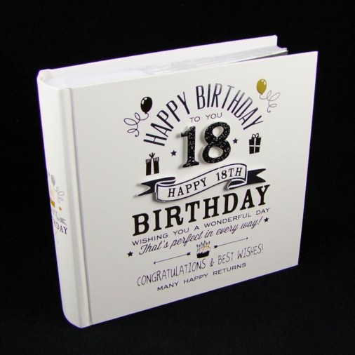 Signography Photo Album 4x6 18th Birthday