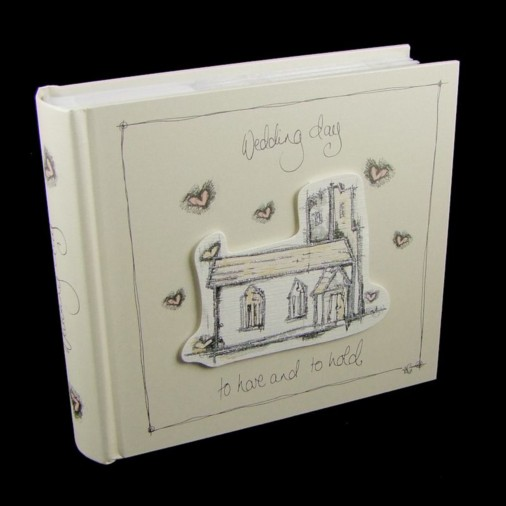 Tracey Russell Coffee & Cream Photo Album 4x6 Wedding Day