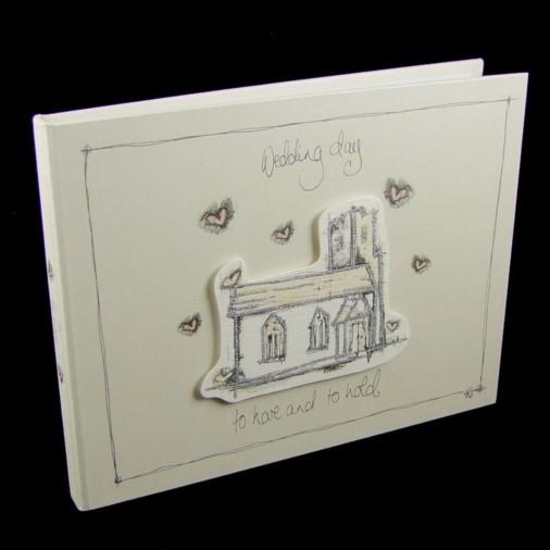 Tracey Russell Coffee & Cream Wedding Guest Book