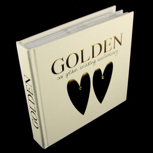 Photo Album & Keepsake Box Golden Anniversary