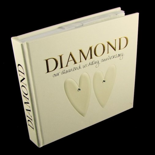 Photo Album & Keepsake Box Diamond Anniversary