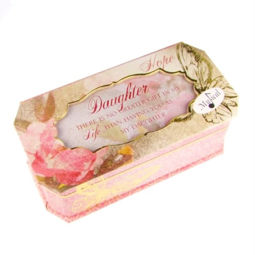 Cottage Garden Butterfly Collection Jewellery Box - Daughter