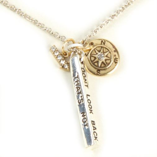 Euphyllia Love Life Necklace - Dont Look Back