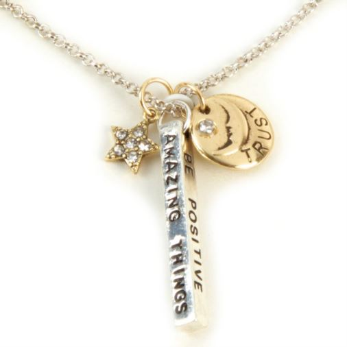 Euphyllia Love Life Necklace - Be Positive