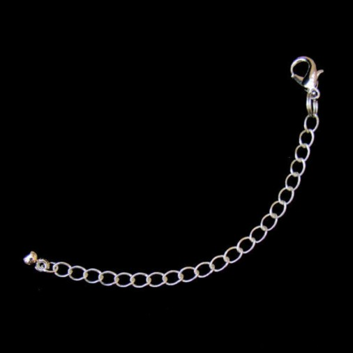 Necklace Extender 9cm (Silver Plated)