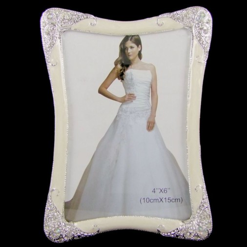 Bridal Scroll Photo Frame 6X4