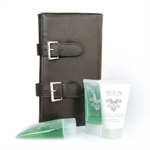 Mens Toiletries Explorer Travel Case Gift Set