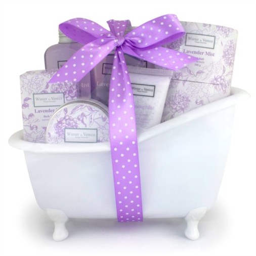 Lavender Mist Bath Tub Gift Set