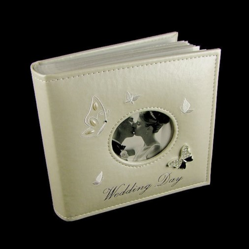 Butterfly Wedding Album 6x4