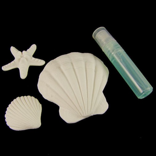 Blue Ocean Scented Shell Set - Scallop Shell
