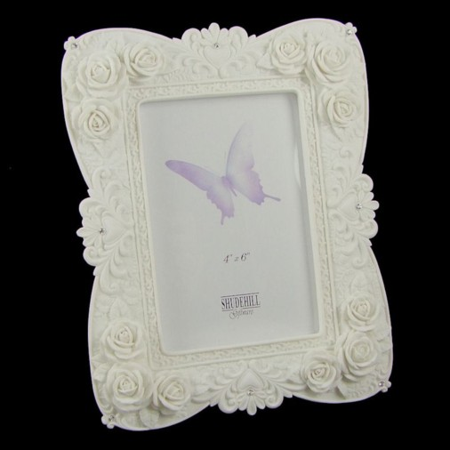Crystal Rose Photo Frame 4x6
